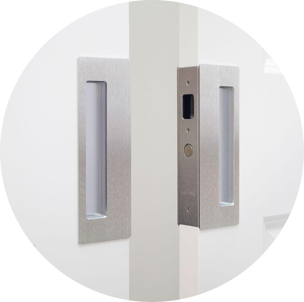 White Pocket Door Hardware Bedroom Project Pinterest Pocket
