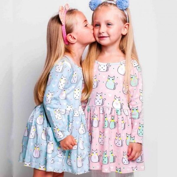 87436f493aeb Mia Aqua Kitty Dress by Oobi