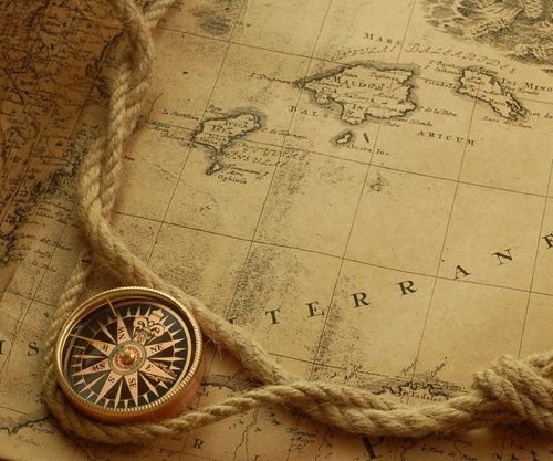 Desktop Wallpaper World Map: Pirate Maps, Map