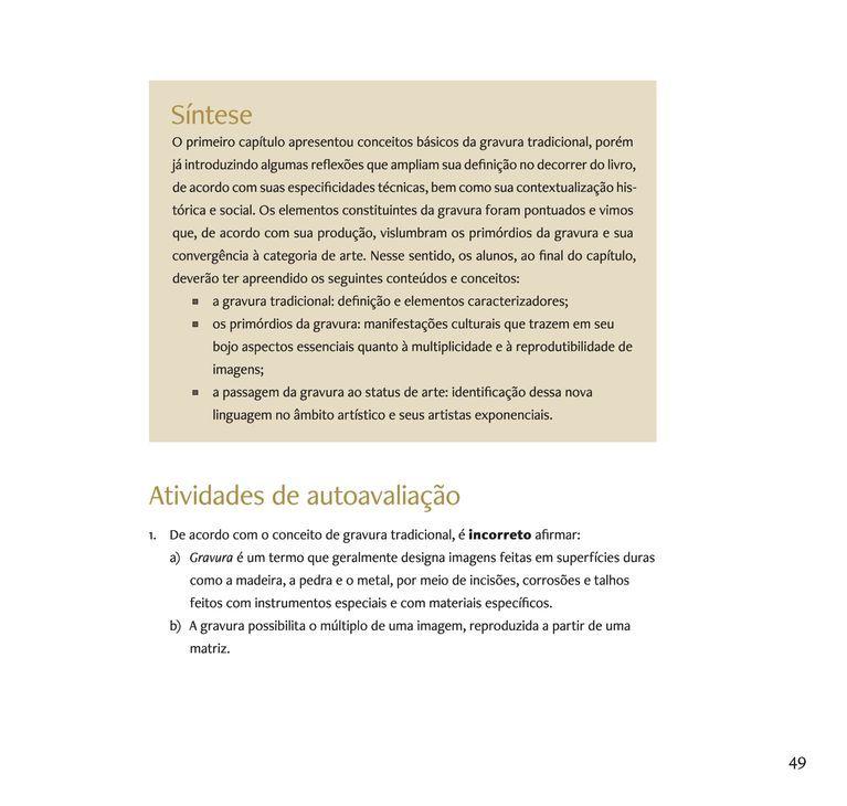 Página 46  Pressione a tecla A para ler o texto da página