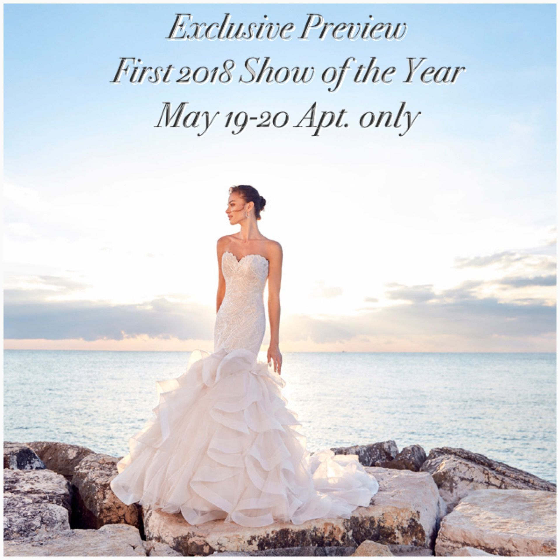 Check out the new eddy k dreams bridal collection at the first