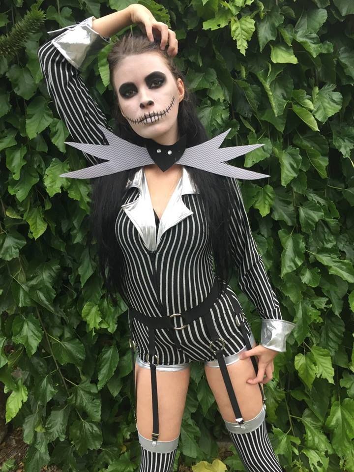Female Jack Skellington