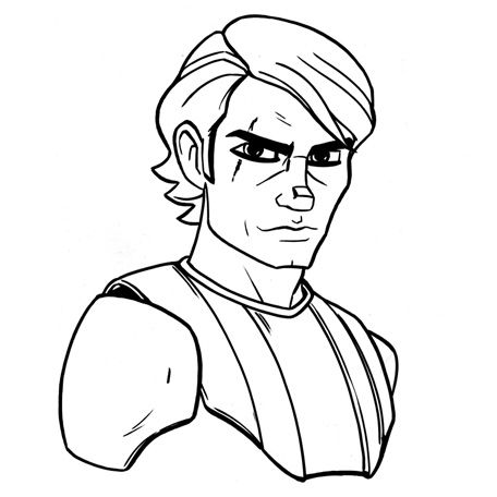 Image result for anakin skywalker drawing | I Love You. I Know ...