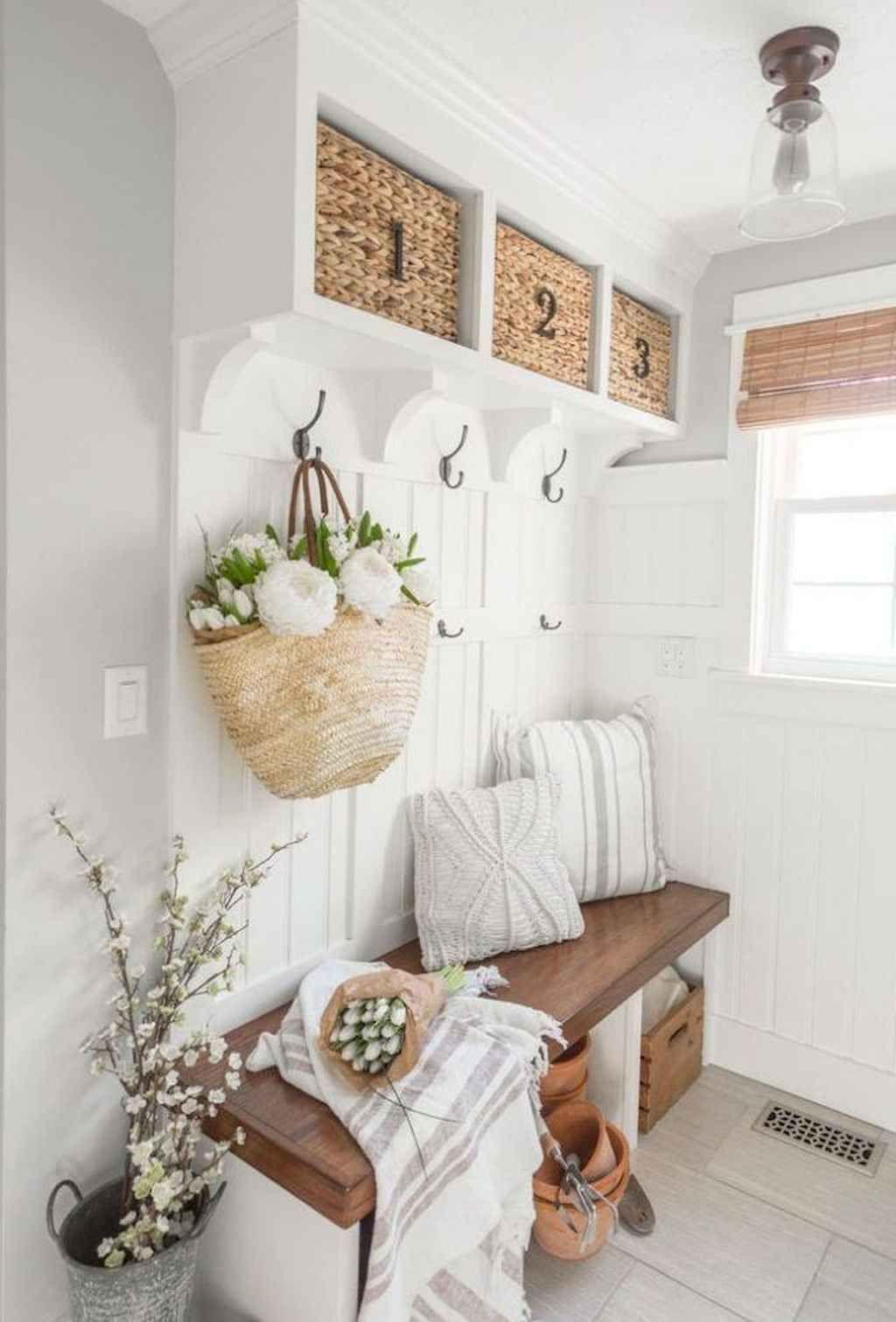 Décoration Petite Entrée Appartement 80+ farmhouse entryway decorating ideas | decoration entree