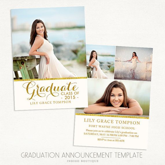 senior graduation announcement template for photographers 016