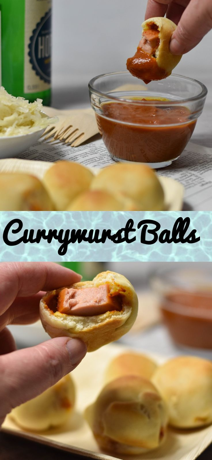 Currywurst Balls - die ultimative Snack Idee