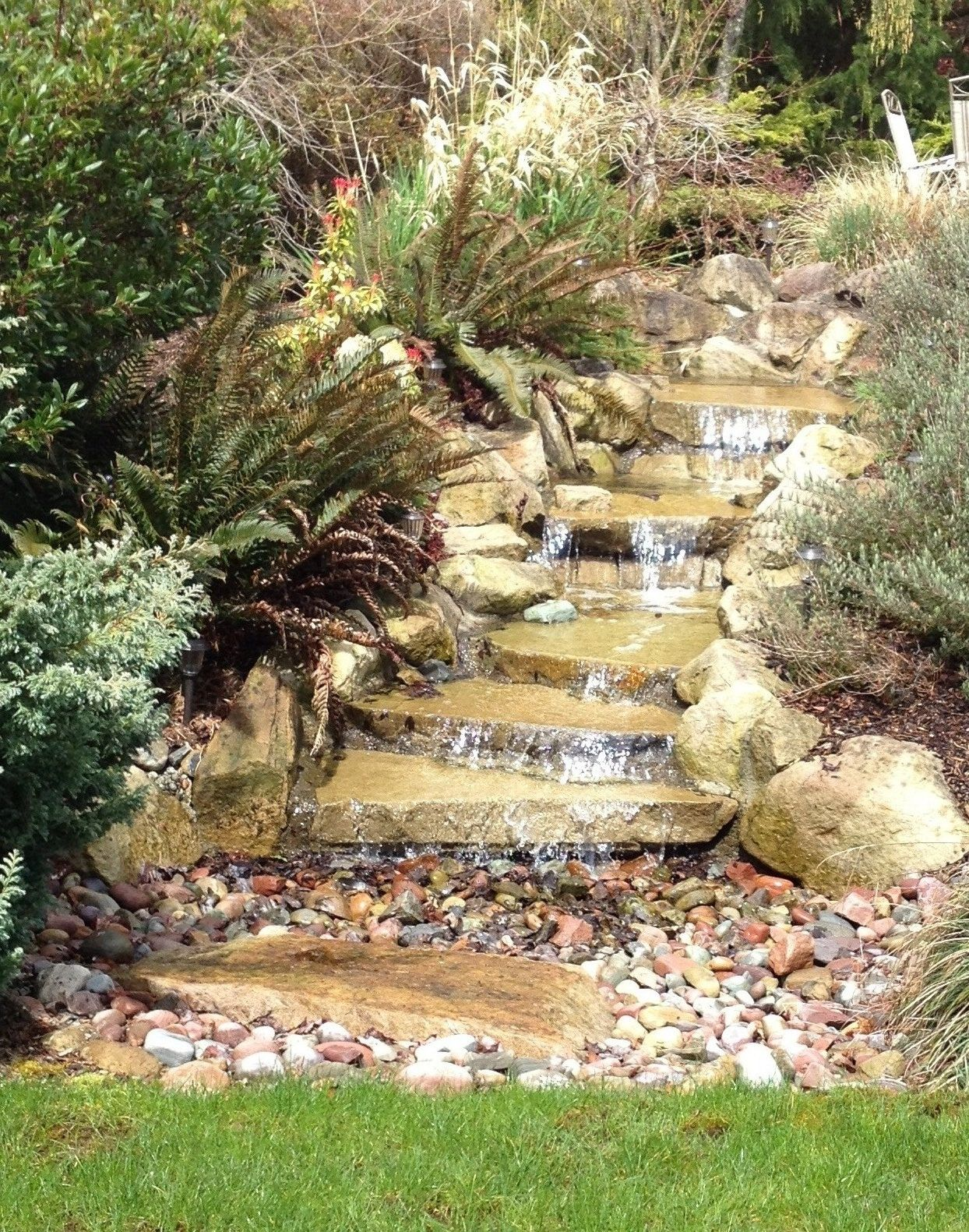 water feature for the front yard | Water features in the ...