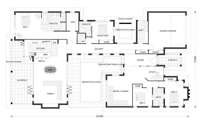 Mandalay 350 Our Designs South Australia Builder Gj Gardner Homes South Australia Luxury House Plans Dream House Plans House Blueprints