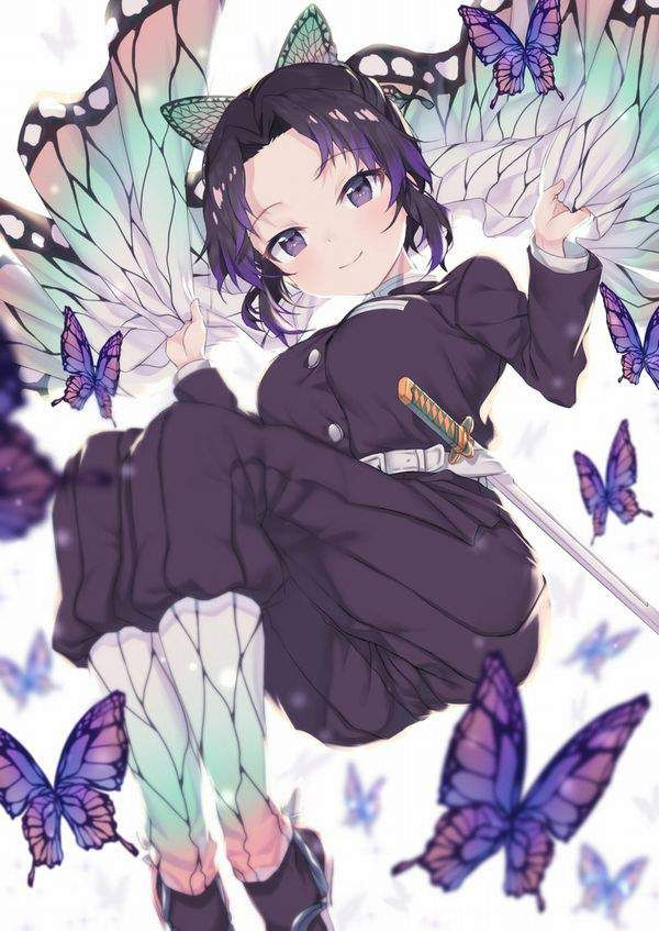 胡蝶 しのぶ エロ 画像