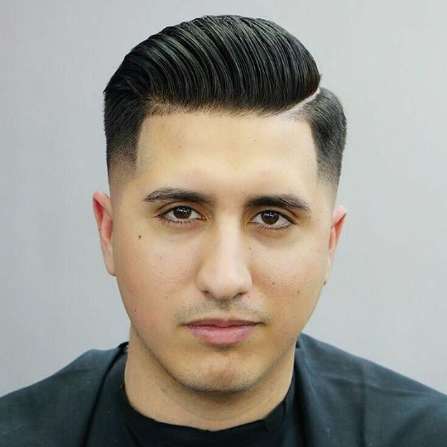 Back Sweep Haircut With Low Side Haircuts For Mens 2017