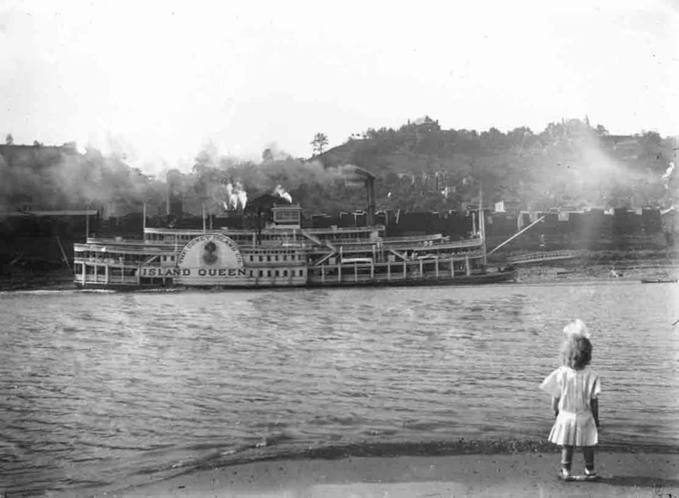 Fabulous photo of the island queen cincinnati photo