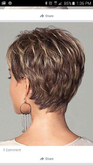frisurer kort pjusket hår