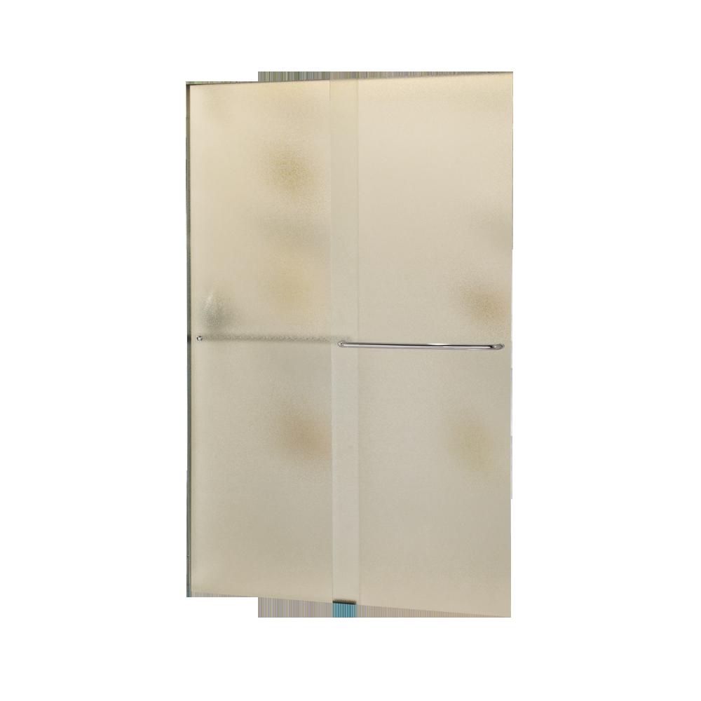 210 Sliding Delta Shower Doors Home Depot Pebbled Glass Chrome