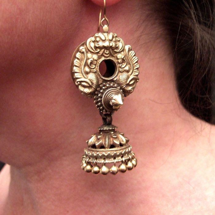 Earring | Stardust... &theElements | Pinterest | Indian jewelry ...