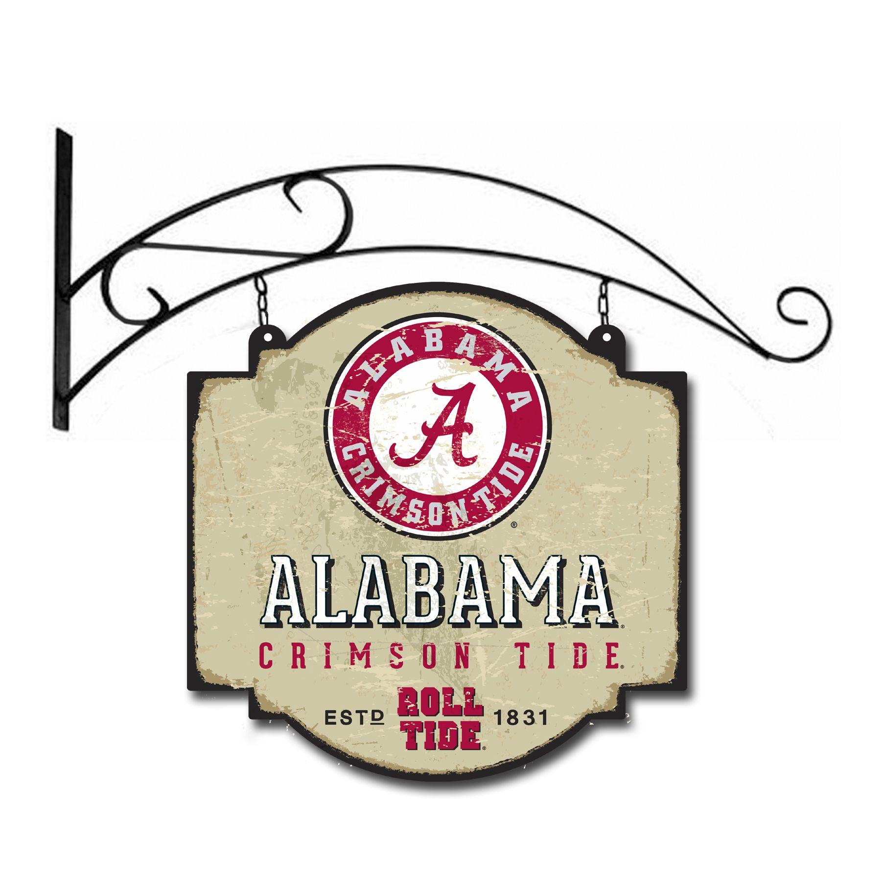 Alabama University Vintage Sign | Alabama, Alabama crimson tide ...