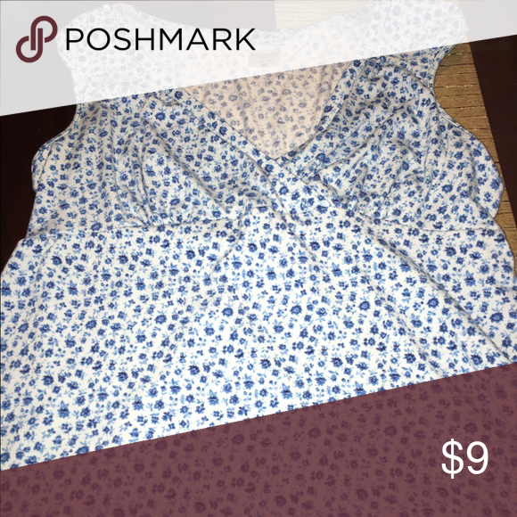 58efab3e12707 Shop Women s Motherhood Maternity Blue White size L Tees - Short Sleeve at  a discounted price at Poshmark. Description  Cute shirt