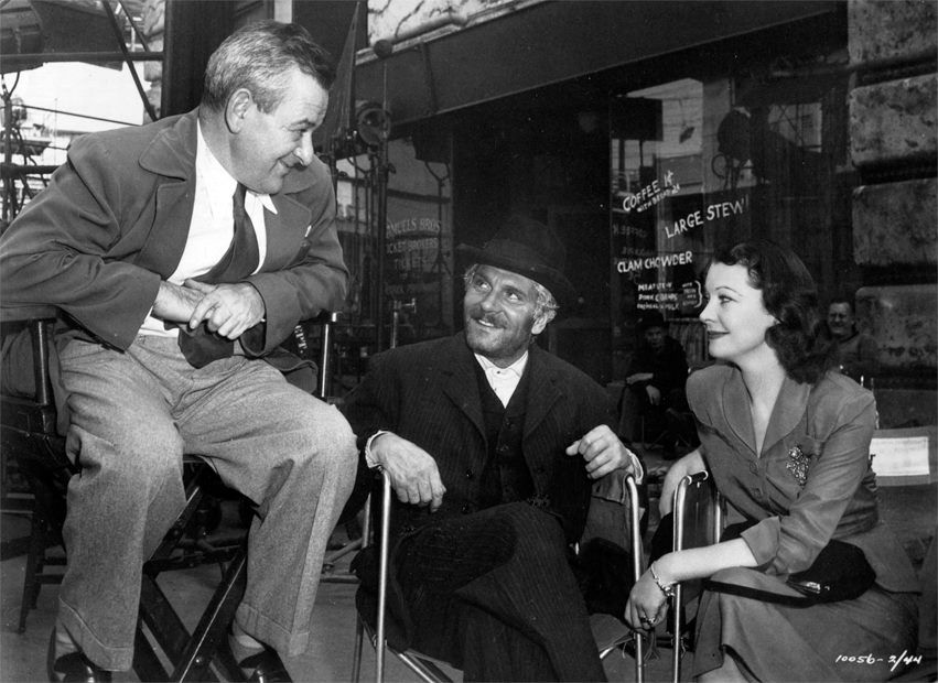 William Wyler, Laurence Olivier & Vivien Leigh #williamwyler