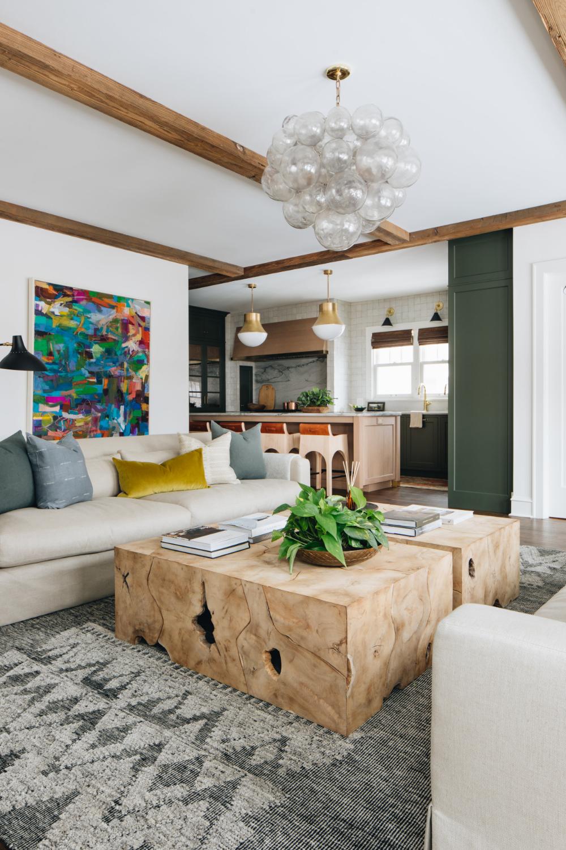 Fair Oaks Jean Stoffer Design Vintage Living Room Trendy Living Rooms Brown Living Room