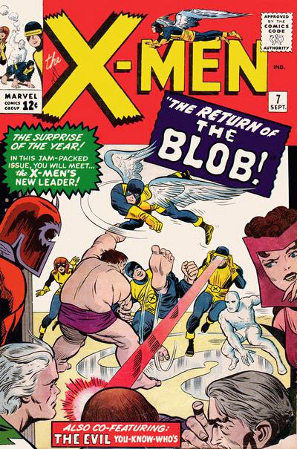 X Men Vol 1 7 Silver Age Comics Marvel Comics Covers Classic Comic Books