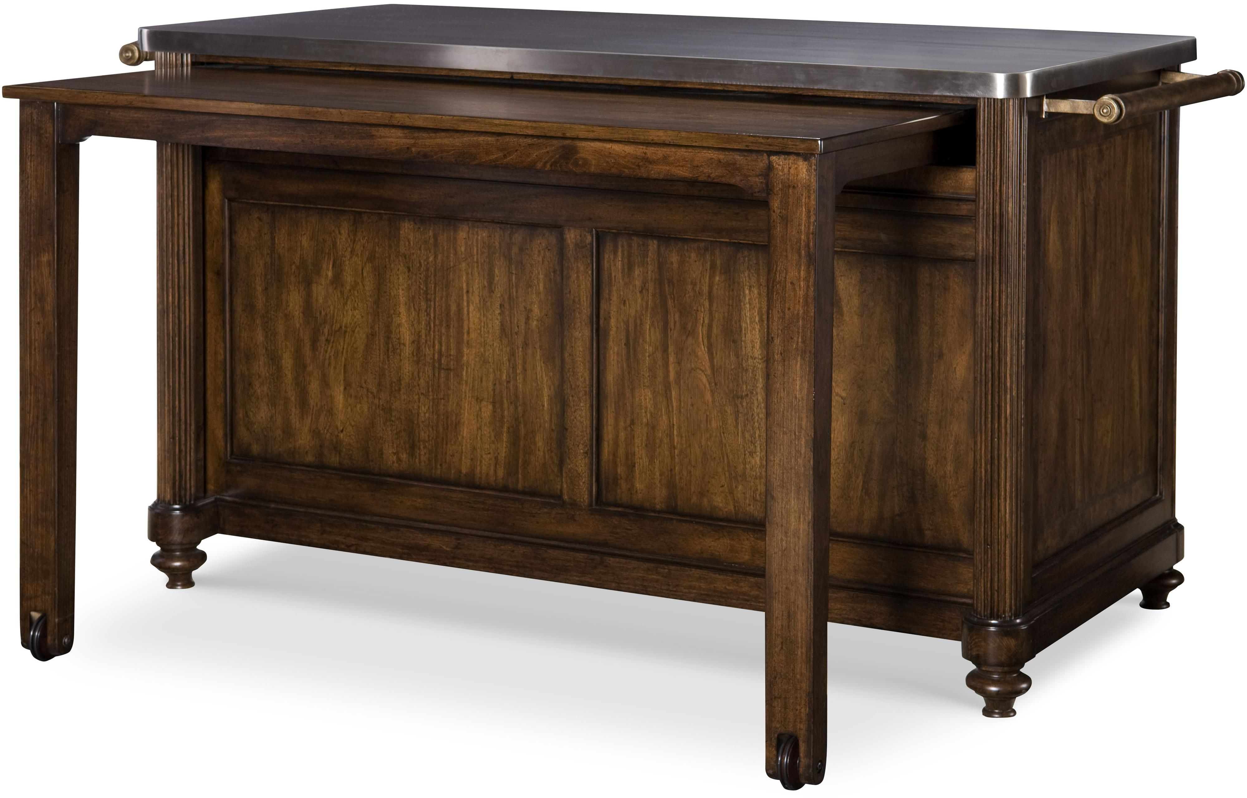 Marvellous Broyhill Kitchen Island With Pull Out Table Shop
