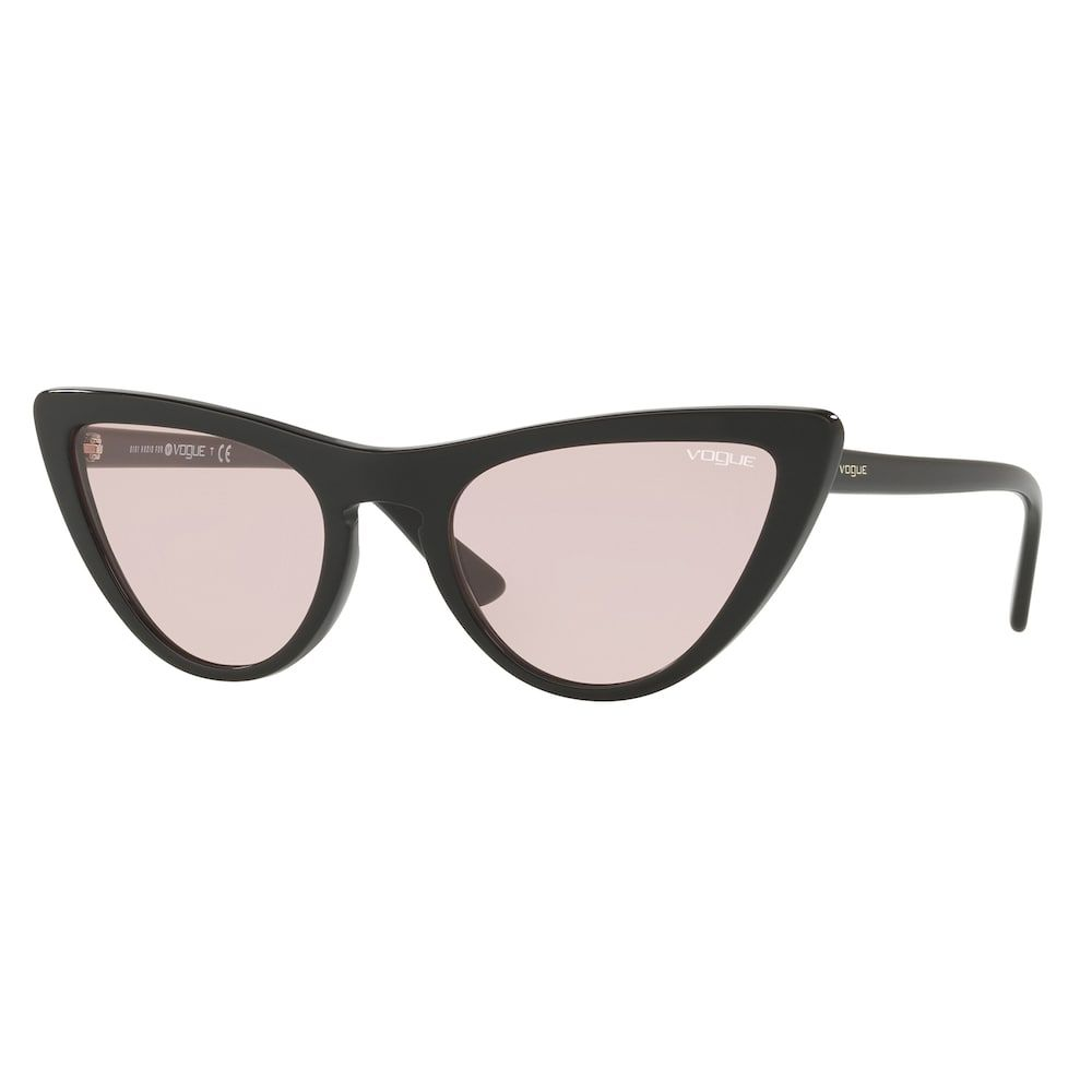 4c09eac16758 Gigi Hadid for Vogue VO5211S 54mm Chic Cat-Eye Sunglasses, Women's, Grey  Other