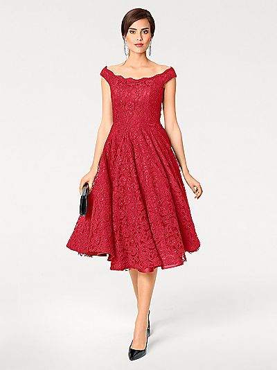 Cocktailkleid mit Petticoat mit Petticoat für Damen ...