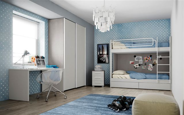 schuifdeurkleerkast stapelbed nardi de boomhut. Black Bedroom Furniture Sets. Home Design Ideas