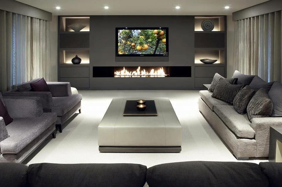 Pin By Stfn On Living Room Living Room Design Modern Luxury Living Room Living Room With Fireplace