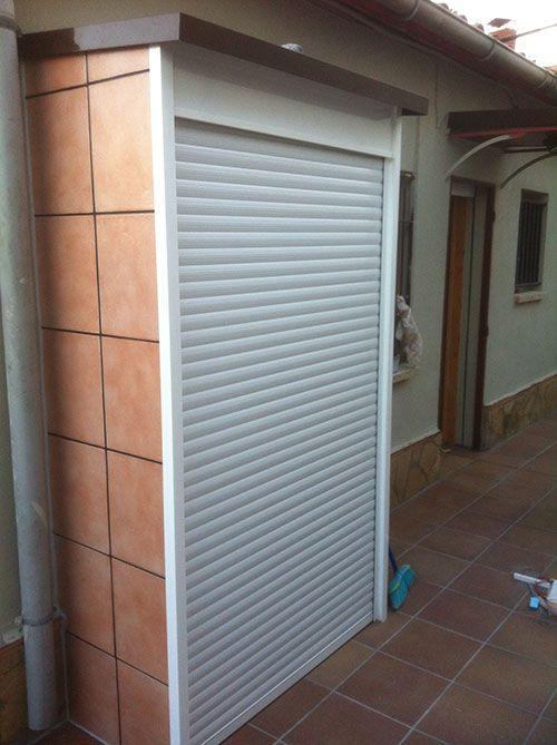 Resultado de imagen de armario aluminio exterior jardin for Armarios aluminio exterior terraza