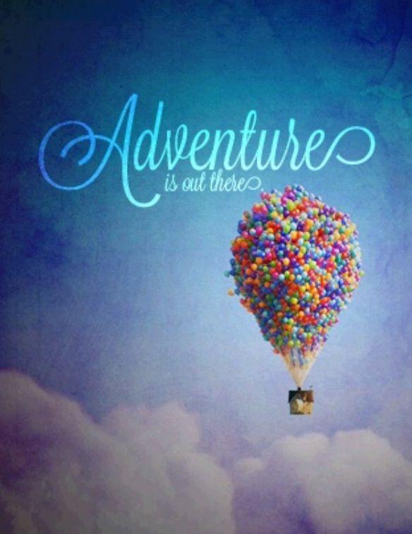 Up The Movie Adventures Balloons Disney ღ Disney
