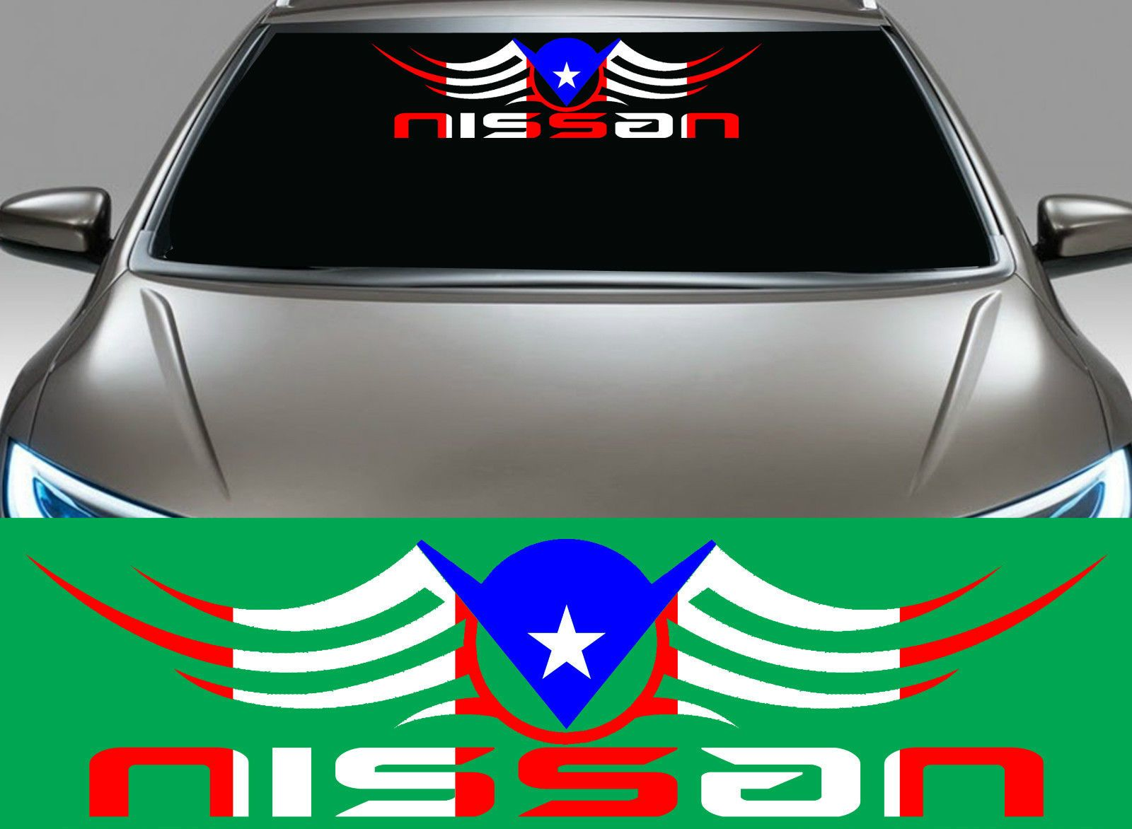 Car sticker design ebay - 1 Puerto Rico Puerto Rican Flag Car Decal Vinyl Stickers 5379 Ebay