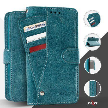 Zizo Slide Pockets Wallet Organizer Case Wallet Pouch For LG