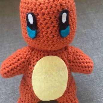 Glumanda Charmander Pokemon Free Crochet Patterns Pinterest