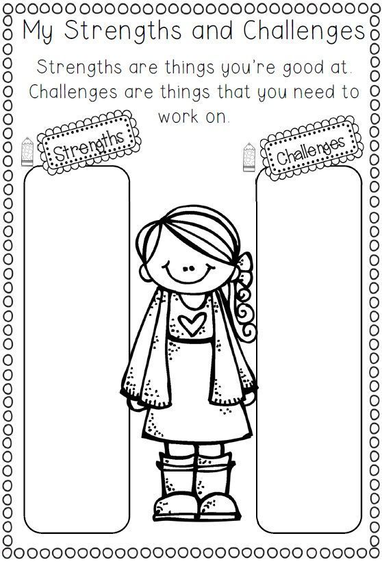 Back to school ready to go printables for first and second