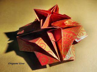 Origami, Fleurogami und Sterne: Meine Spielerei .....