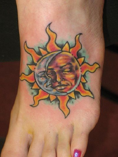 181e2565b sun moon tattoo by the indifference on deviantart sun moon tattoos ...