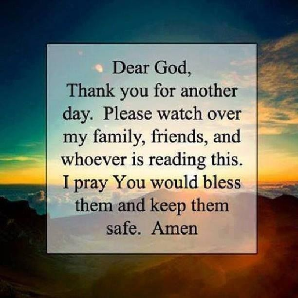 Dear God Thank You For Another Day Life Quotes Quotes Positive