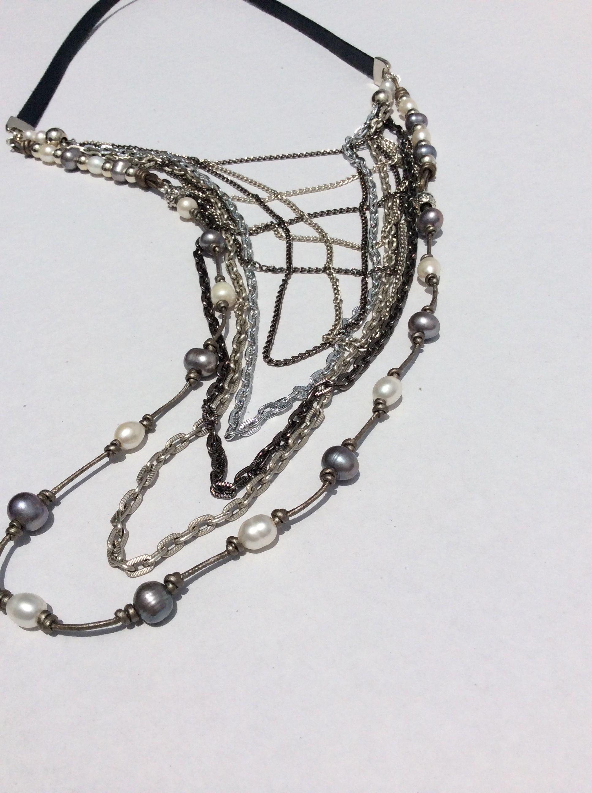 e691dc821c89 Collar cuero plano