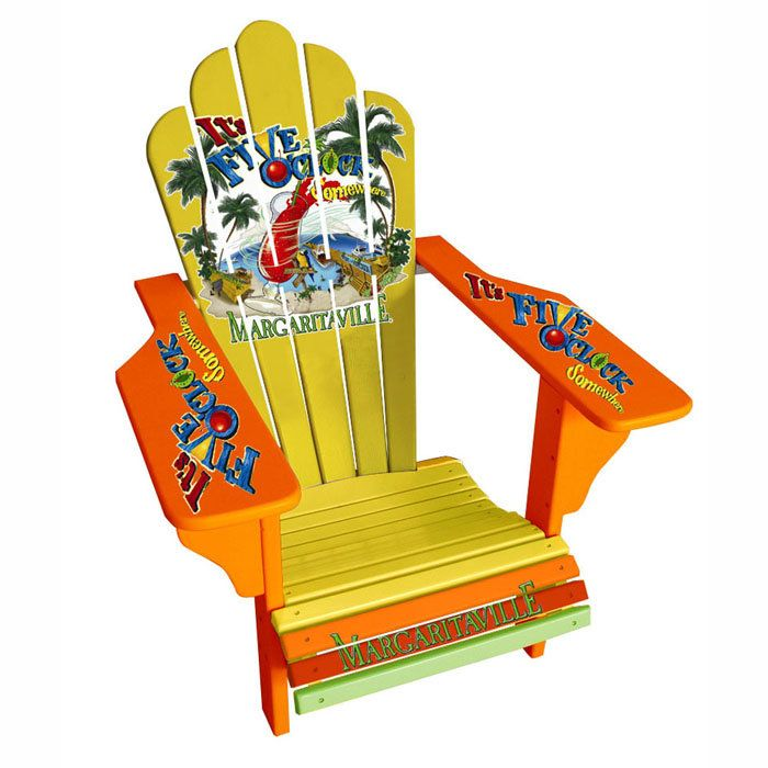 Jimmy Buffett Adirondack Chairs.Our Original Margaritaville Deluxe Adirondack Chair Cool