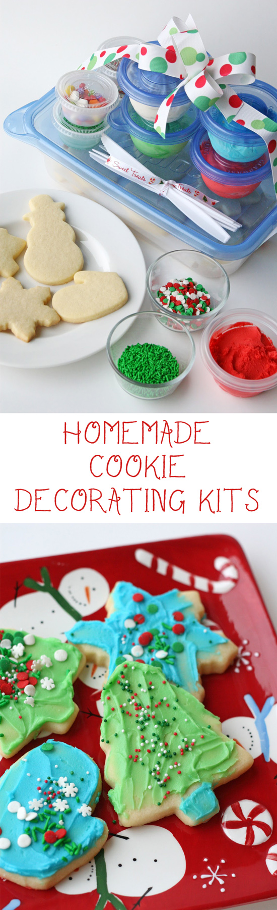 Cookie Decorating Kits for Kids {and Easy Butter Frosting Recipe} - Glorious Treats