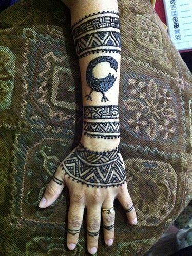 African body art google search body art pinterest body art west african tribal armpiece in henna gumiabroncs Image collections