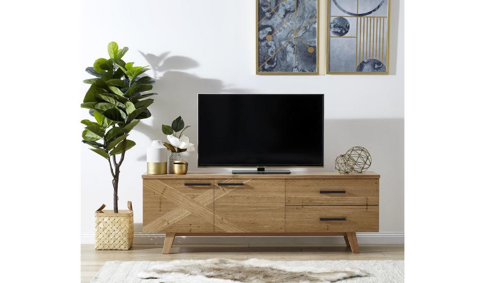 Orbost entertainment unit Value furniture, The unit
