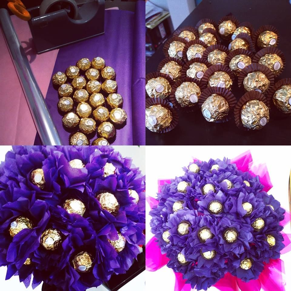Flower buds, chocolates, everything in one place. Create your own ...