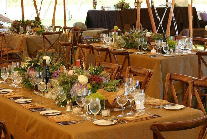 late fall woodland rustic wedding theme 2015 | perfect wedding, Garten ideen