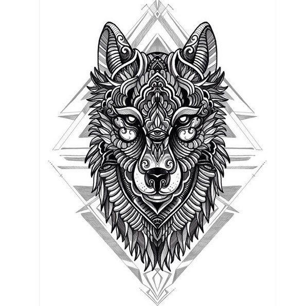 pin von auf art tattoo pinterest tattoo ideen wolf und tattoo vorlagen. Black Bedroom Furniture Sets. Home Design Ideas