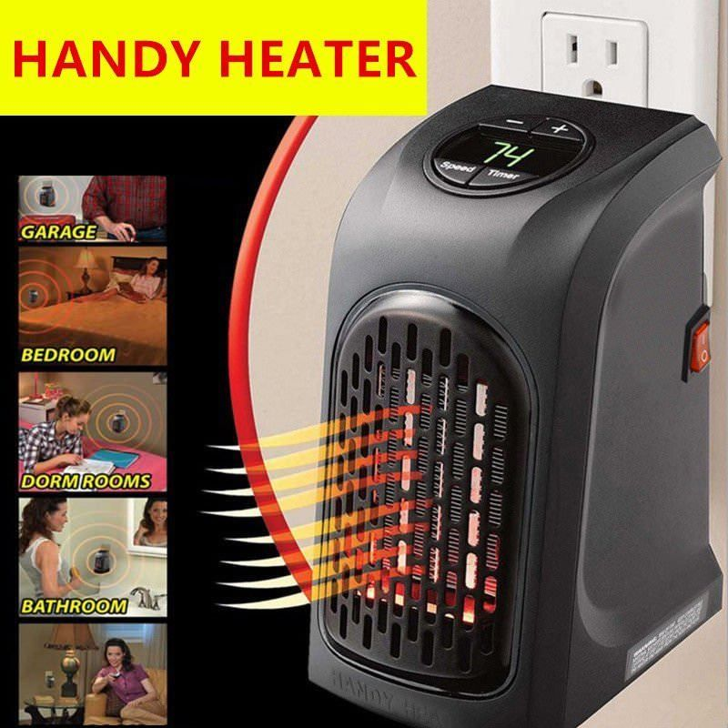 11 35 Aud 220v 350w Portable Wall Outlet Electric Heater Fan Handy Air Warmer Silent Tv Portable Heater Electric Heater Portable Electric Heaters