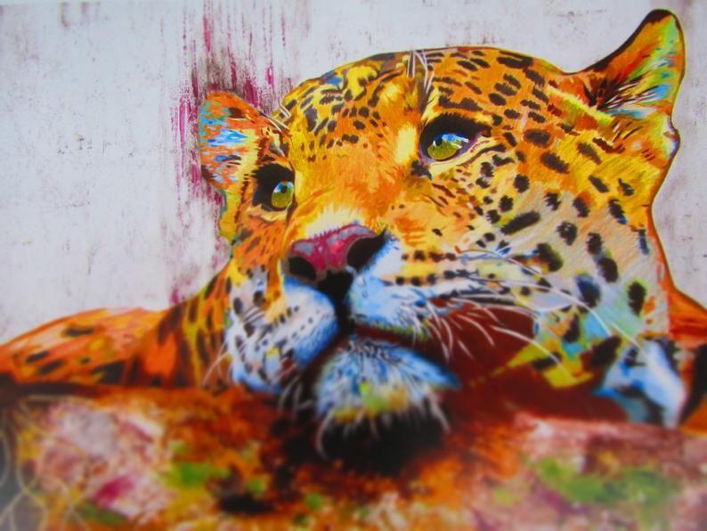 Jaguar Print Jaguar Art Jaguar Art Print Jaguar Wall Art Safari Animals Jaguar Poster Jaguar Prints Jaguar Art Print Animal Prints In 2020 Jaguar Print Art Leopard Art
