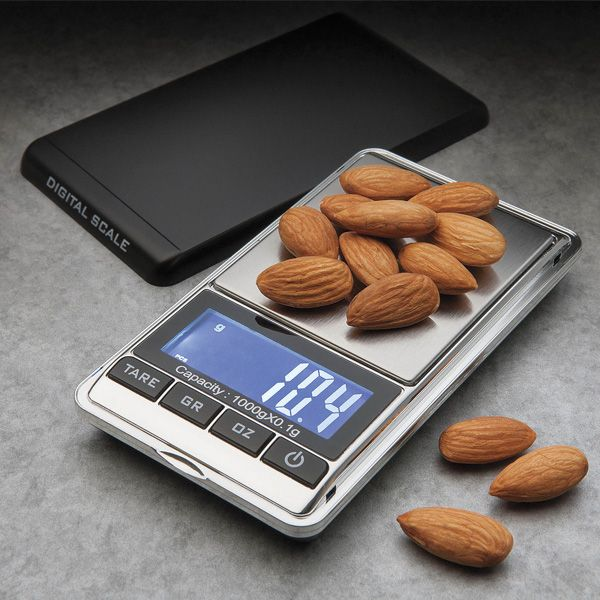 Portion control is key to #healthy eating. This #Kuraidori kitchen scale will help you properly portion out food and snacks to prevent over-eating.