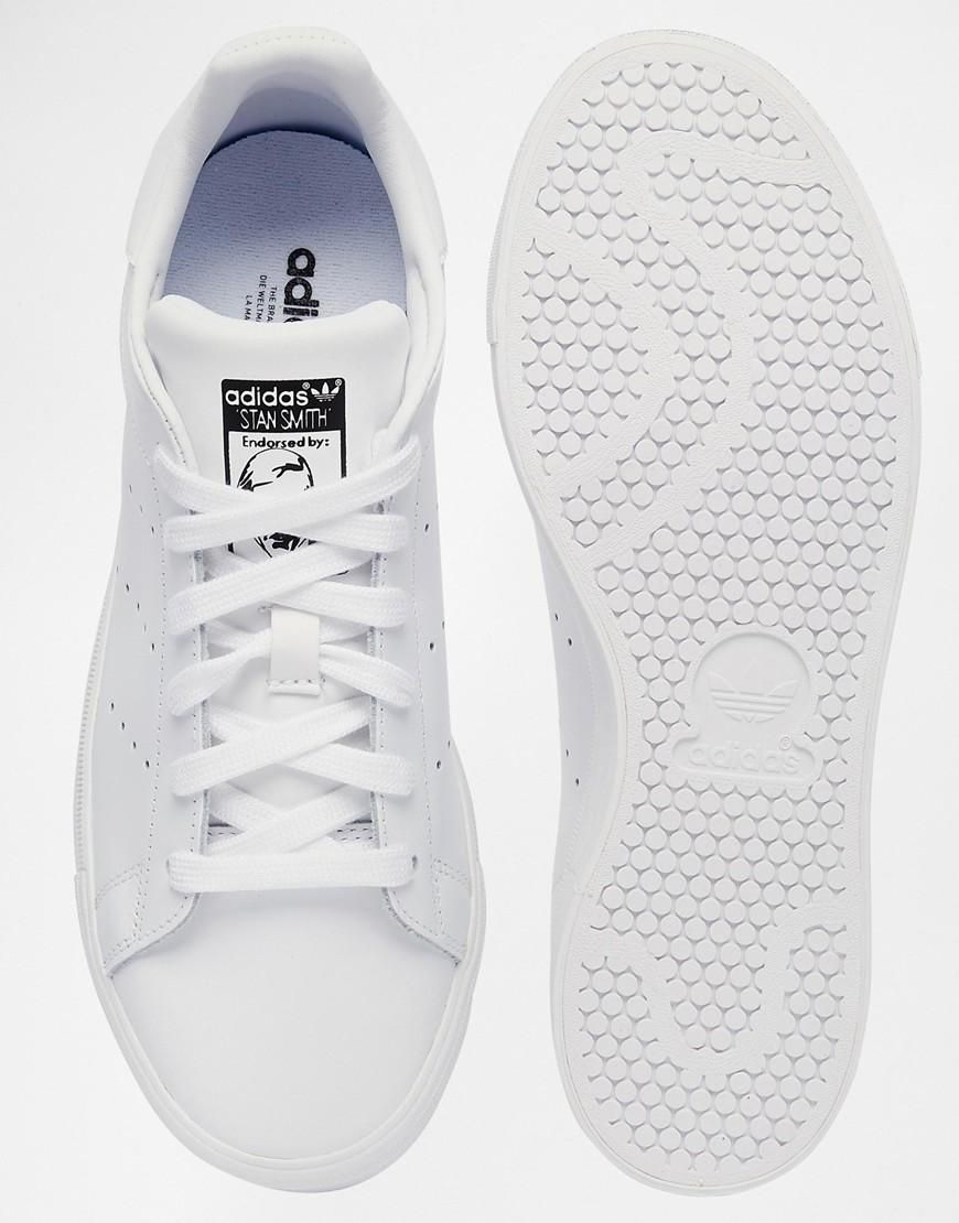 84a58a9f3 Adidas | adidas Originals Stan Smith All Over White Trainers at ASOS ...