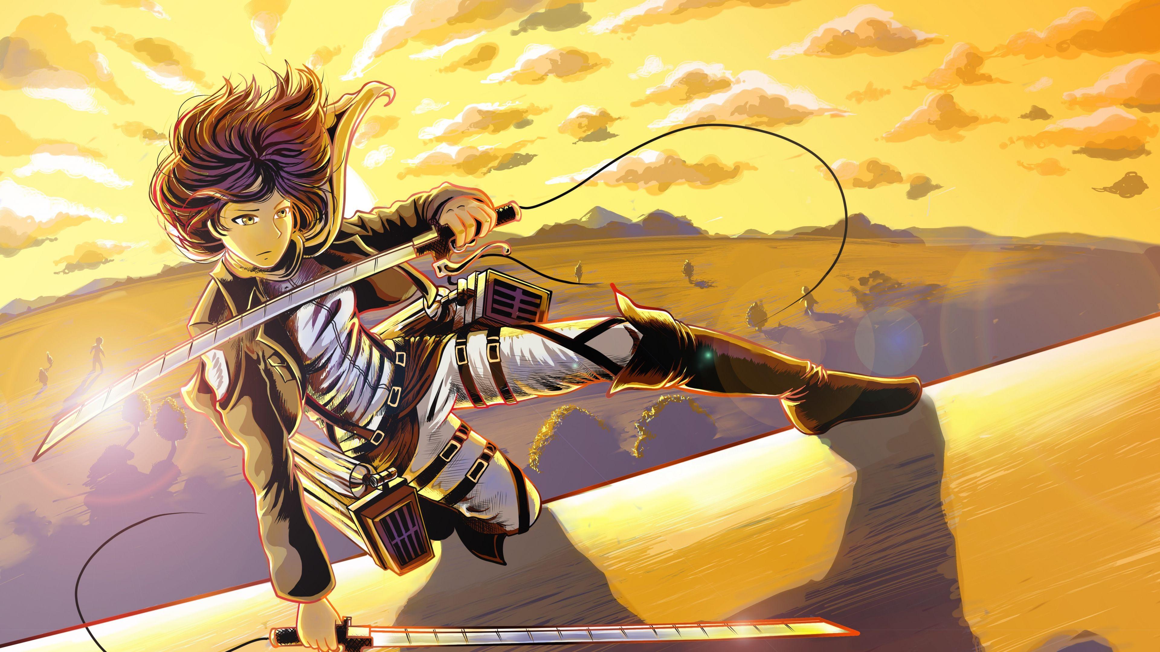 Luna Selenium Mikasa Weapon Sword (With images) Anime